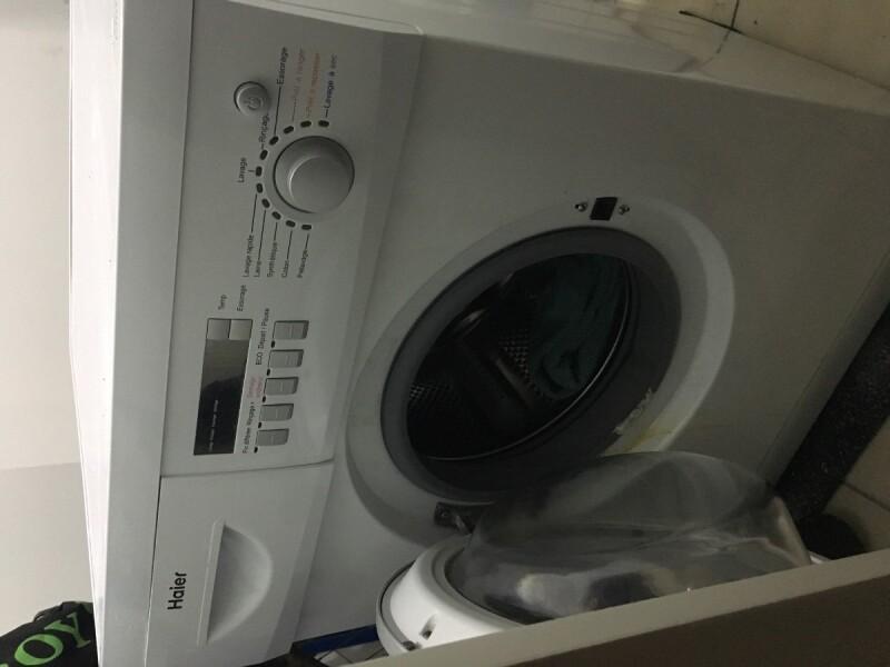 Lave linge mon lave linge s chante haier hwd c1200txve ne s 39 allume plus - Mon lave vaisselle bosch ne lave plus ...