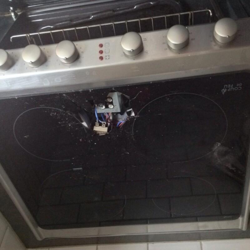 cuisini re plaque de cuisson remplacer verre vitroc ramique rosieres
