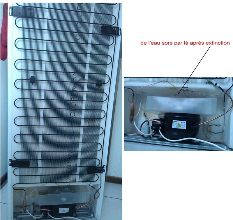 R frig rateur r parer un frigo combin qui fait de froid ventil qui ne f - Comment regler la temperature du frigo ...
