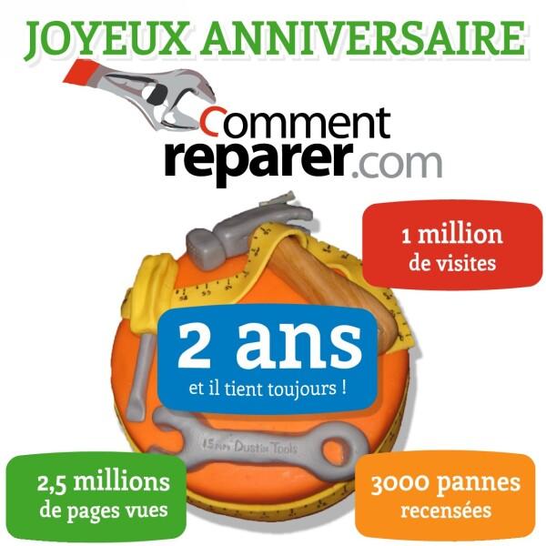 CommentReparer.com a 2 ans !