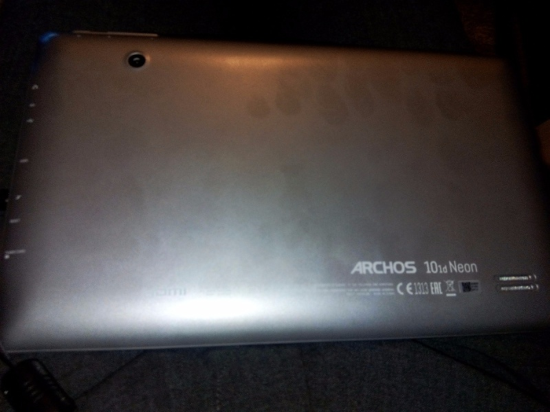 tablette tactile ma tablette archos 101d n on ne veut plus charger sa batterie. Black Bedroom Furniture Sets. Home Design Ideas