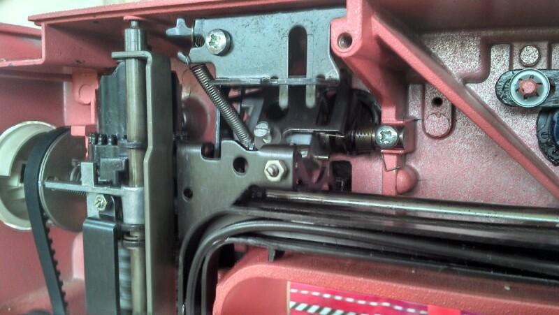 Machine coudre recherche manuel de reparation machine a coudre husqvarna 150e carmen - Reparation machine a coudre ...