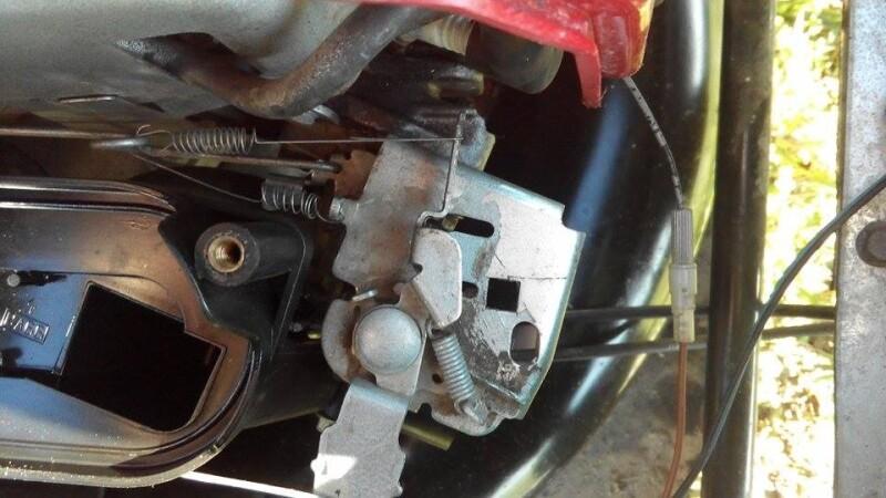Tondeuse Motoculteur D 233 Broussailleuse Montage Ressort