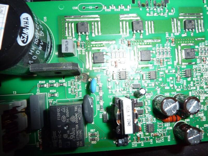 s 232 che linge panne seche linge electrolux edc68558w r118 r 233 par 233 commentreparer