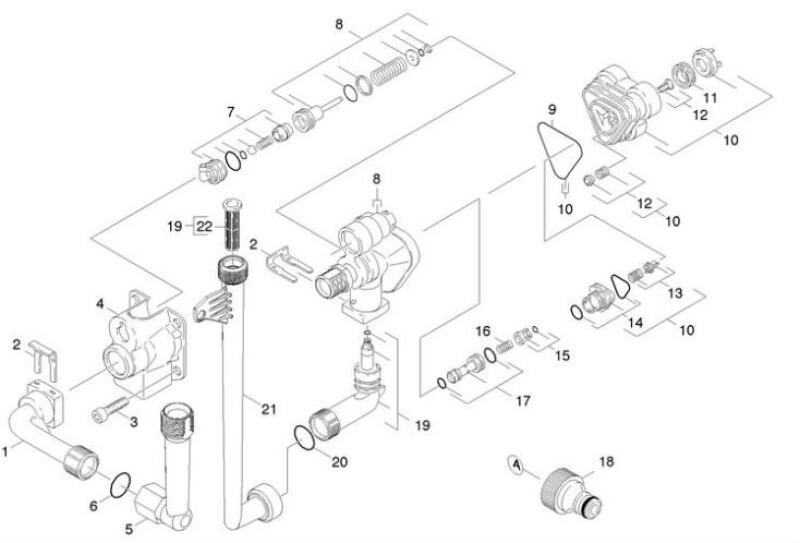 Nettoyeur haute pression nettoyeurs hp k rcher - Comment demonter un karcher ...