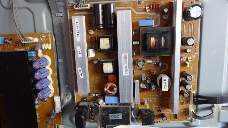 tv samsung plasma type ps50c687. Black Bedroom Furniture Sets. Home Design Ideas