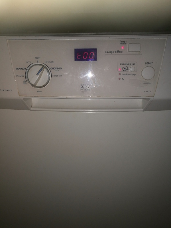 Lave vaisselle lave vaisselle vedette aquasafe appre - Comment fonctionne un lave vaisselle ...