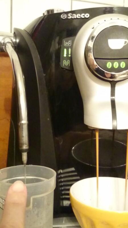 Machine A Cafe Saeco L Eau Ne Coule Plus