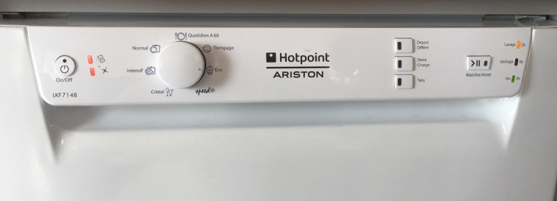 Lave vaisselle lave vaisselle ariston ne lance pas le programme de lavage - Comment detartrer lave vaisselle ...