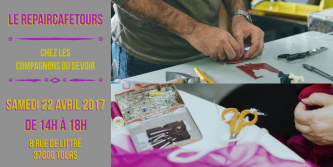 Photo Repair Café Tours du 22 Avril 2017