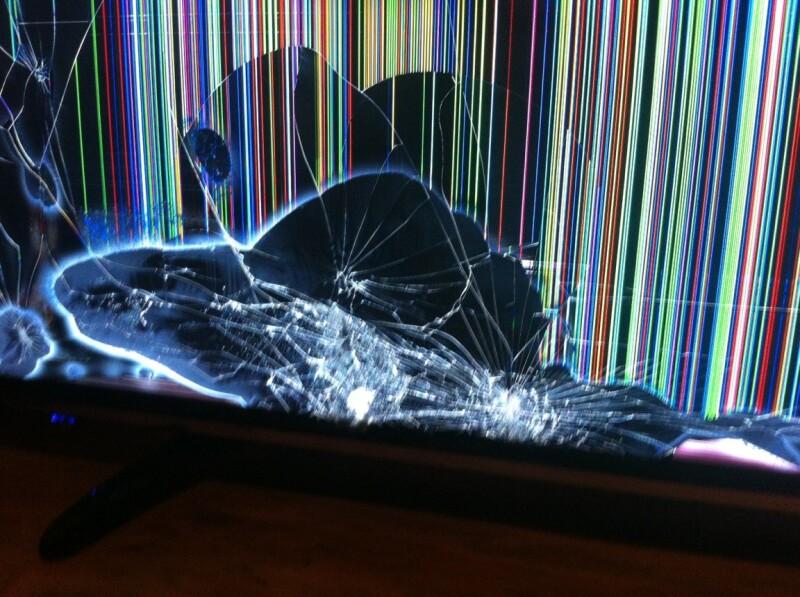 tv hsiense 43m3000 ecran cassé