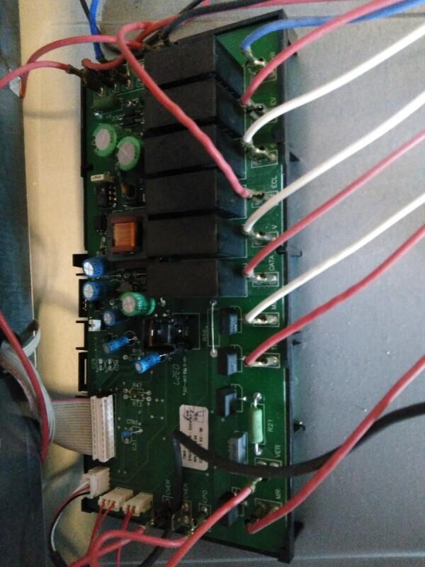 nouveau produit f8fd5 5bfdc four bloqué cuisinière induction de Dietrich DCI 399WE1