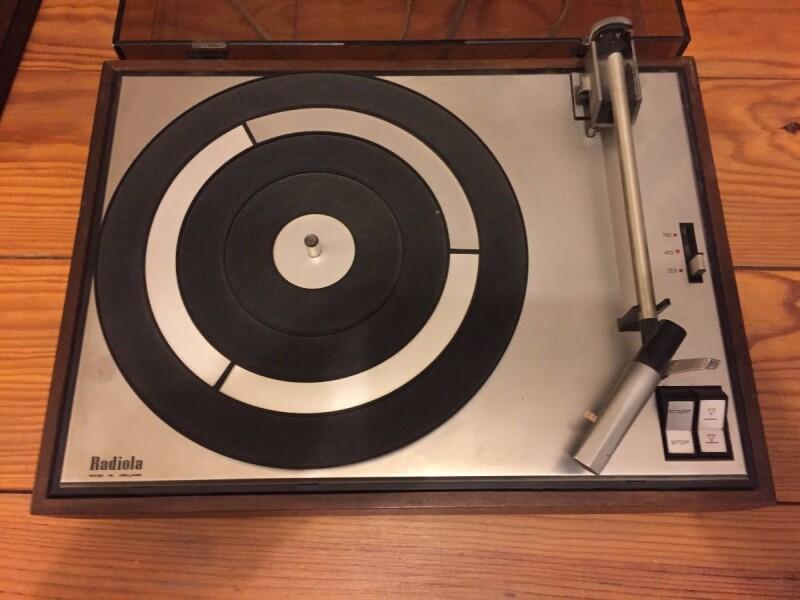 Tourne Disque Vinyle Radiola Panne Moteur