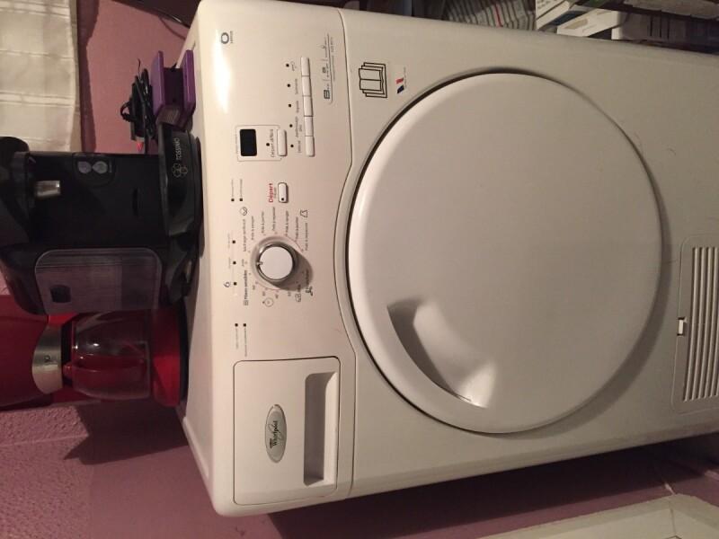 le tambour de mon s che linge whirlpool 6 sense ne tourne plus. Black Bedroom Furniture Sets. Home Design Ideas