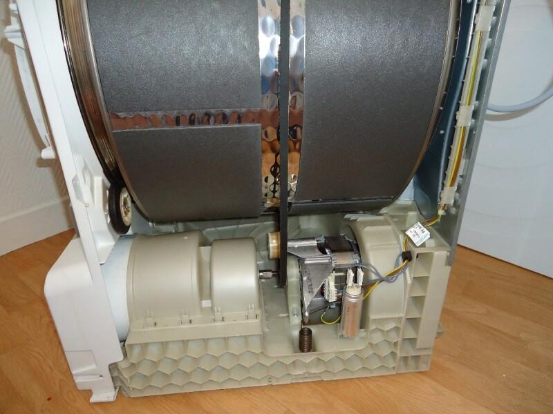 S che linge comment changer courroie bosch wtb84300ff 8kg commentrepare - Comment fonctionne un seche linge ...