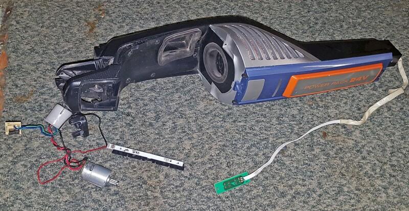 d montage de la partie moteur de l 39 aspirateur electrolux ultra power zb5011. Black Bedroom Furniture Sets. Home Design Ideas
