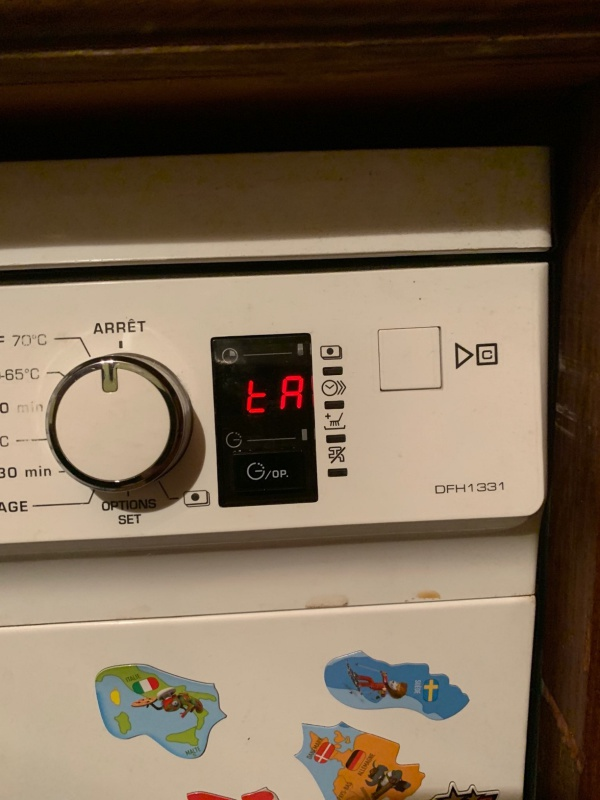 la meilleure attitude 0224c ecefd Défaut tA sur lave vaisselle Brandt
