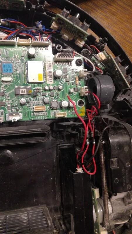 Réparer fil alimentation batterie Aspirateur robot LG HOM BOT