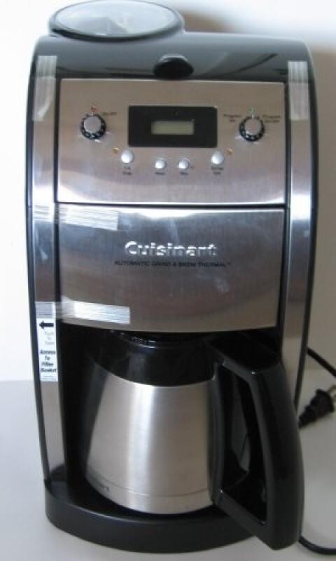 Cafeti re r paration cafeti re cuisinart dcc 590 for Comment detartrer une cafetiere