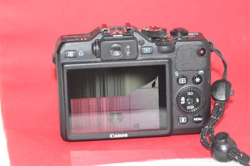 Appareil photo mon ecran a des lignes g15 for Casser un miroir