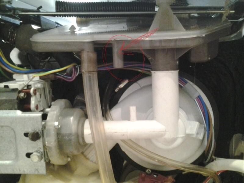 mon lave vaisselle fuit par dessous. Black Bedroom Furniture Sets. Home Design Ideas