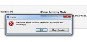 Erreur 53 : Apple contre le droit à réparer - signez la pétition