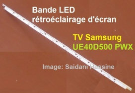 bande led pour tv samsung ue40d5000. Black Bedroom Furniture Sets. Home Design Ideas
