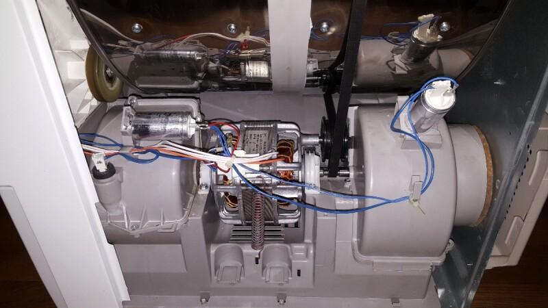 R parer s che linge electrolux edi 97170 w tambour qui ne tourne plus - Comment recuperer du linge deteint ...
