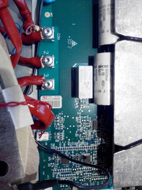 Plaque induction de dietrich ne d 39 allume plus - Table induction de dietrich dti1358dg ...