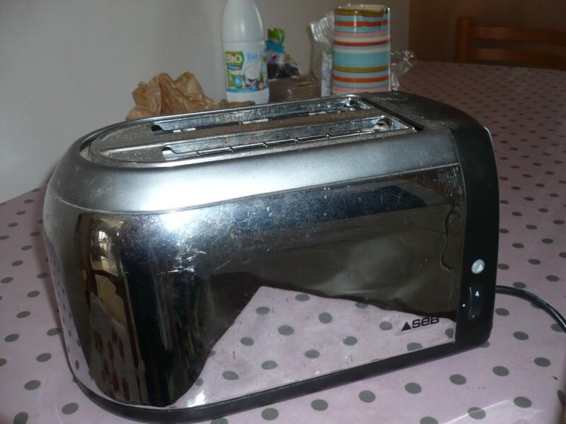 Grille-pain - grille pain Seb chromé TT810001/3D0-3105 ressort ne ...