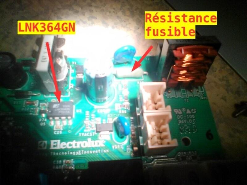 Lave vaisselle electrolux real life xxl aquasave ne - Comment savoir si un fusible est grille ...