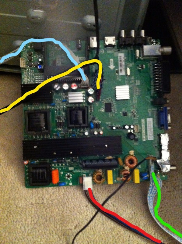 TV LCD à LED Blaupunkt: écran ne s'allume pas