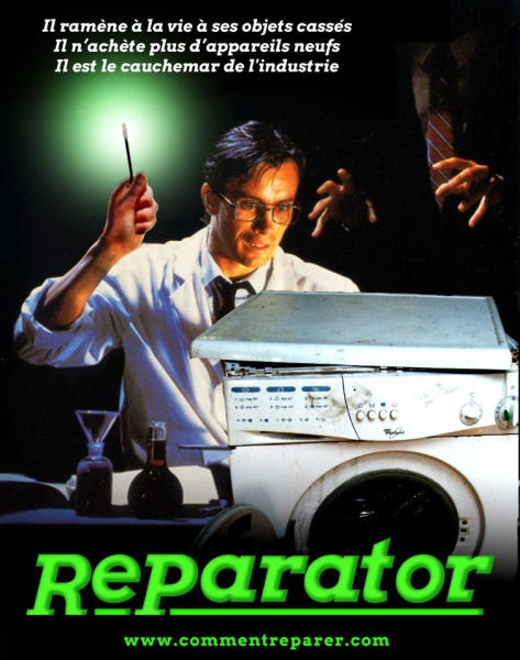 Affiche : Reparator, le film qui fait trembler l'industrie