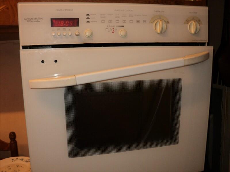 Comment enlever la vitre d 39 un four arthur martin - Demontage porte four whirlpool ...